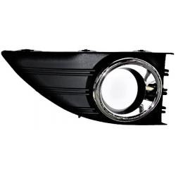 Mřížka v předním nárazníku pro mlhovky (chrom) Renault Fluence (2010-) - levá