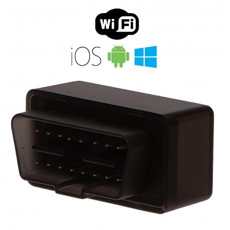 Autodiagnostika SX1 WiFi černá, IOS, Android (zdarma SX OBD aplikace) SIXTOL