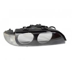 Sklo reflektoru TYC (bílá směrovka) BMW 5 E39 - pravé
