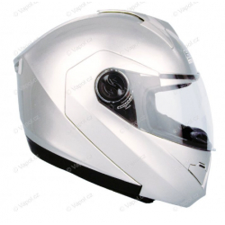 Přilba výklopná DP999 - XL - silver HLS