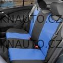 Potah sedadla TRIKO zadní 1ks modrý